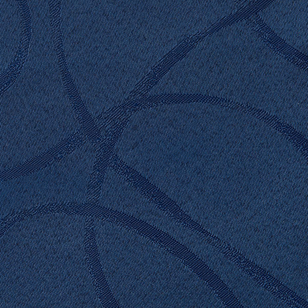 Magilu International - Tovaglia antimacchia e antistiro su misura per ristorante - Mod. London blu