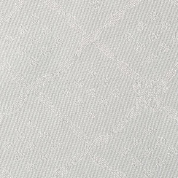 Magilu International - Tovaglia antimacchia e antistiro su misura per ristorante - Mod. Classico Nodo D'Amore perla