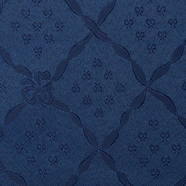 Magilu International - Tovaglia antimacchia e antistiro su misura per ristorante - Mod. Classico Nodo D'Amore blu