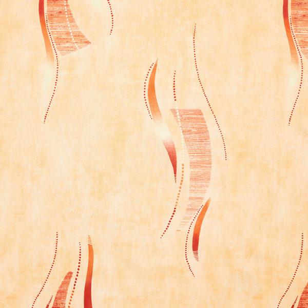 Magilu International - Tovaglia antimacchia e antistiro su misura per ristorante - Mod. Fantasia Fantasy arancio