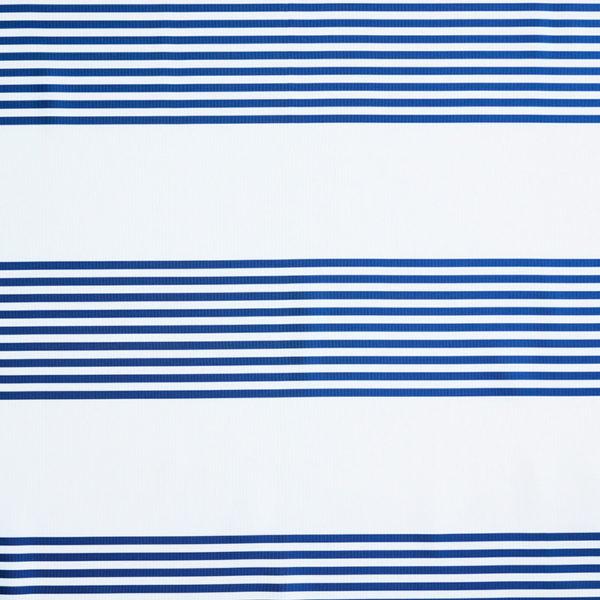 Magilu International - Tovaglia antimacchia e antistiro su misura per ristorante - Mod. Fantasia Righe blu