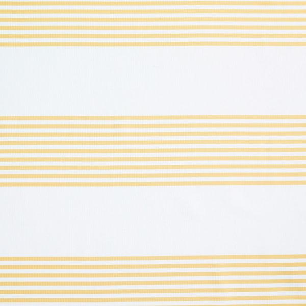 Magilu International - Tovaglia antimacchia e antistiro su misura per ristorante - Mod. Fantasia Righe giallo