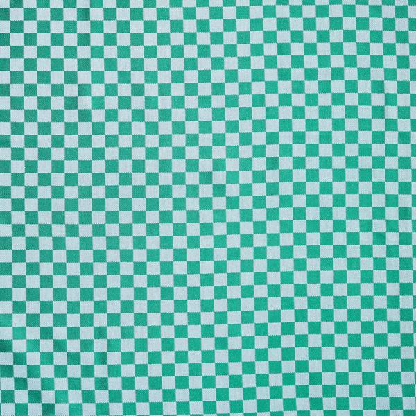 Magilu International - Tovaglia antimacchia e antistiro su misura per ristorante - Mod. Fantasia Damina verde