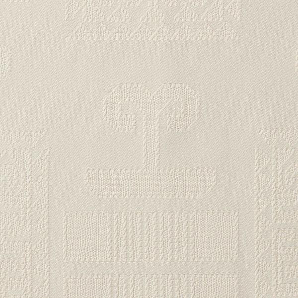 Magilu International - Tovaglia antimacchia e antistiro su misura per ristorante - Mod. Geometrico avorio